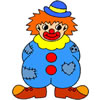 Colora il clown
