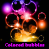 Сolored bubbles