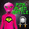 Pink Alien Battle