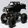 Black Monster Truck
