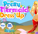 Pretty Mermaid Dress Up