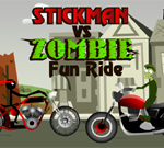 Stickman vs Zombie Fun Ride