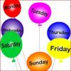 Ditët e javës në gjuhën angleze