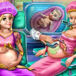 Goldie Princesses Pregnant Check up