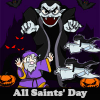 All Saints' Day. Find objects