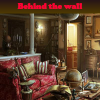 Behind the wall. Find objects