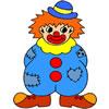 Colora il clown