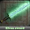 Elven sword 5 Differences