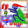 Stick Santa Gift Collect