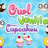 Cooking Trends Owl Vanilla Cupcakes