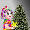 Rainbow Girl Christmas Tree Decoration