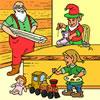 Santa's Workshop Coloring