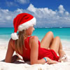 Snow Maiden in the Bahamas
