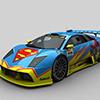 Super Hero Racing Car