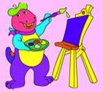 Big Dino Coloring