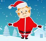 Monkey Santa Jump