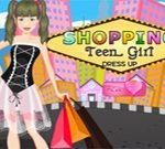 Shopping Teen Girl Dress UP
