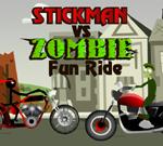 Stickman vs Zombie Fun Ride