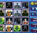 Superheroes Memory Matching