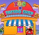Zoe at Tattoo Shop