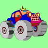 Coloring Monster Truck