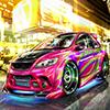 Racing Neon Car