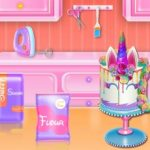 Unicorn Cake Cooking